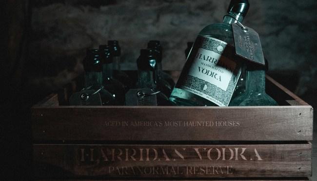 Harridan Vodka Paranormal Reserve haunted houses