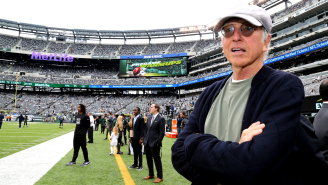 Larry David Has Numerous A+ Suggestions For The NFL, Including Getting Rid Of The Goal Posts