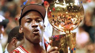 Michael Jordan's Zoom Background Is The Ultimate NBA GOAT Flex