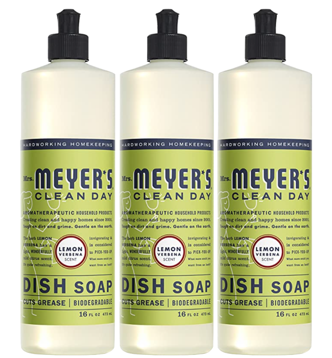 Mrs Meyers Clean Day Dishwashing Liquid Dish Soap