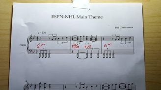 ESPN's Tribute To Its Iconic NHL Theme Song Will Give Any Hockey Fan Goosebumps