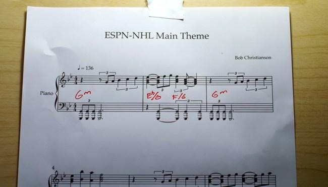 NHL on ESPN theme origins tribute
