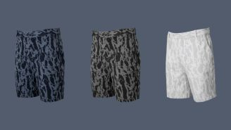 These Nike Dri-Fit Camo Shorts Are Over 40% Off Right Now