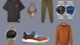 New Watches And Fashion Drops: TAG x Ryan Gosling, J. Crew New Balance 992 'New York,' And More