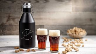 Personalize This 64 oz Stainless Steel Growler With A Custom Engraving
