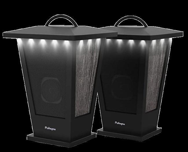 Pohopa True Wireless Stereo Sound Dual Pairing Lantern Speakers