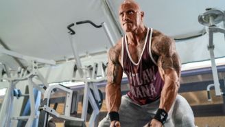 Dwayne Johnson's Project Rock 'Outlaw Mana' Collection Has Some Of Our Favorite Workout Tees Right Now