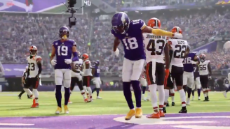 This 8K Camera 'Griddy' Dance Is The Cleanest Touchdown Celebration You've Ever Seen