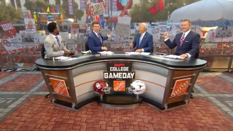 Texas And Oklahoma Fans Put Differences Aside On College Gameday, Tout SEC Dominance