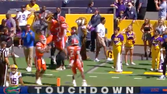 Russian Television Straight-Up Laughed In The Face Of LSU's Defense And It Couldn't Be Funnier