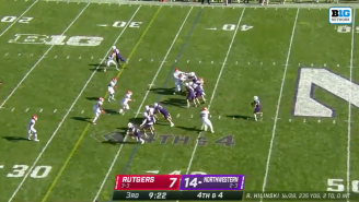 Northwestern Football Might Have Run The Worst Fake Punt Of All-Time And It Was So, So Bad