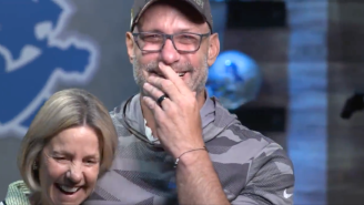The Lions Tricking Chris Spielman Into Reading His Own 'Ring Of Honor' Announcement Will Make You Cry Real Tears
