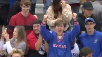 Kansas Allowed Fans To Get Into The Oklahoma Game Without A Ticket And The Progression Is Hilarious
