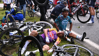 Spectator Who Caused Massive Tour De France Crash Trying To Get On TV Goes On Trial
