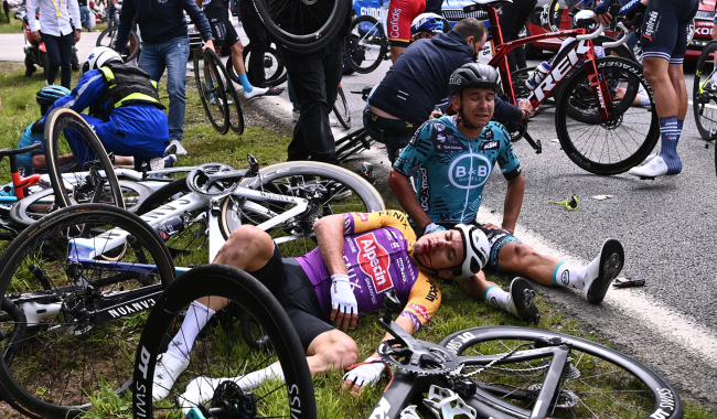 Spectator Who Caused Massive Tour De France Crash Goes On Trial