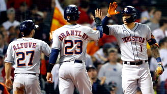 The Houston Astros Are Being Accused Of Cheating, Again, With Claims Of Whistling On Certain Pitches