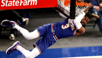 Internet Roasts The New York Knicks For Their Indecipherable 2021 Team Poster