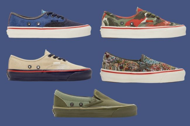 Nigel Cabourn x Vans—The Latest Collaboration We're Loving