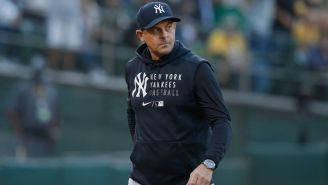 Social Media Reacts To Aaron Boone's Absurd Comment Following Yankees' Loss To Red Sox