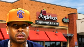Allen Iverson Claims He Got So Stoned In 2014, He Woke Up In A Ditch Outside Applebee's