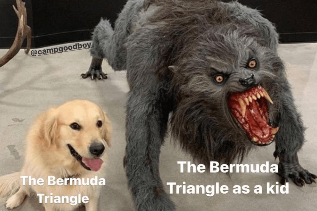 best 50 memes Thursday Bermuda Triangle