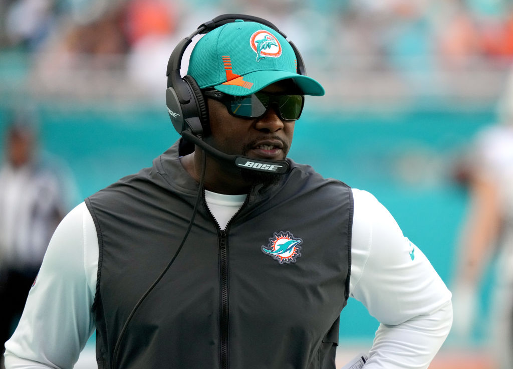 Brian Flores Miami Dolphins Head Coach