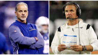 Chuck Pagano Is Absolutely 'Blown Away' By Urban Meyer's Bold Decision To Bail On The Team Flight After Loss