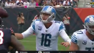 The Detroit Lions Commit The Most Embarrassing Turnover Of The NFL Season