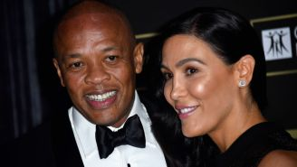 Dr. Dre 'Recoiled In Anger' After Nicole Young Served Him Divorce Docs At The Cemetery Where He Buried His Grandmother