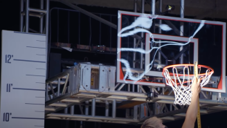 9 Of The World's Best Dunkers Compete To See Who Can Land The Highest Jam By Raising The Rim