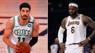 Celtics' Enes Kanter Challenges LeBron James And Owner Of Nike To Visit Slave Labor Camps In China