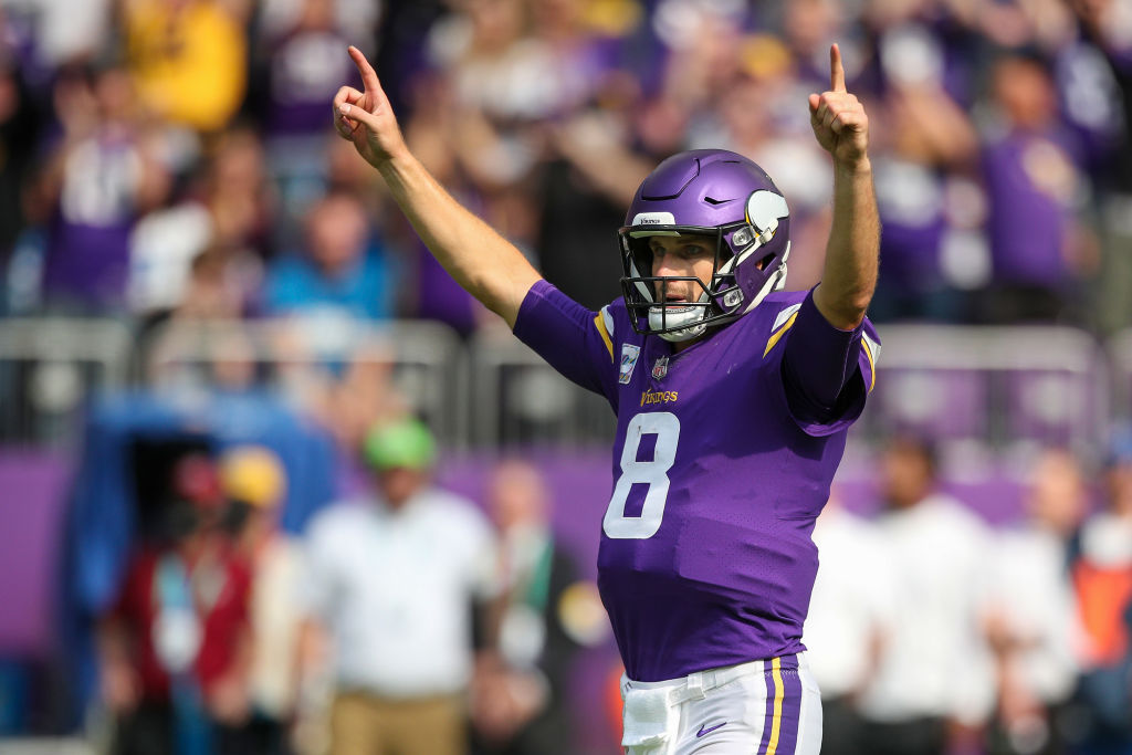 NFL fans react to Kirk Cousins Mike Zimmer aggressive exchange