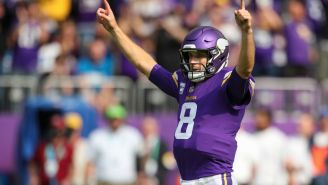 NFL Fans React To Mike Zimmer Being Restrained In Aggressive Exchange With Kirk Cousins