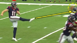 Houston Texans Execute Possibly The Worst Punt In NFL History
