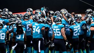The Jacksonville Jaguars Breaking Their Practice Huddle With 'GRIND!' Is A Merciless Troll