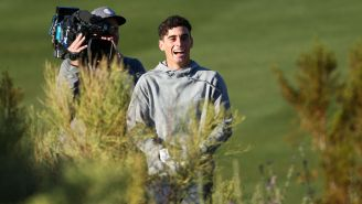 Joaquin Niemann Holes Out For Unbelievably Improbable Birdie At The CJ Cup To Start His Round