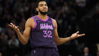 Social Media Reacts To Karl-Anthony Towns' Absurd Pregame Ritual
