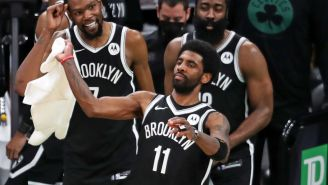 Kyrie Irving Is Reportedly Not Anti-Vaxx, Reveals Nonsensical 'Grander Fight' To Close Teammates