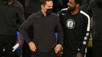 The Sports World Reacts To Steve Nash's Definitive Claim About Kyrie Irving's Situation