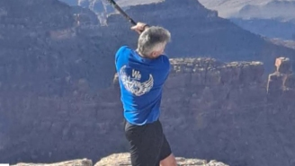 Tourist In Hot Water After Getting Filmed Smashing A Baseball Into The Grand Canyon