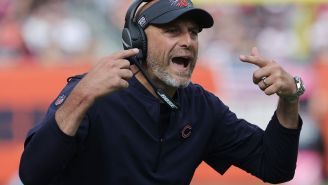 Bears Fans Destroy Matt Nagy For His Ridiculous Postgame Comments Following Blowout Loss To Bucs