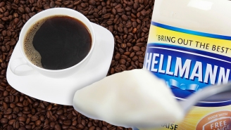 Horrified Twitter Users React To Hellmann's Telling People To Put Mayo In Their Coffee