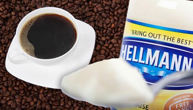 hellman's mayo coffee twitter reactions