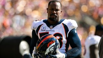 The NFL World Reacts To Von Miller Stating He's 'Going To Kill' Someone On The Field This Week