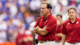Nick Saban Shares His Unique Recruiting Pitch To Get Players To Alabama