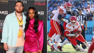 Travis Kelce's GF And Patrick Mahomes' Fiancé Want Replays Of Big Hits/Injuries To Be 'Illegal'
