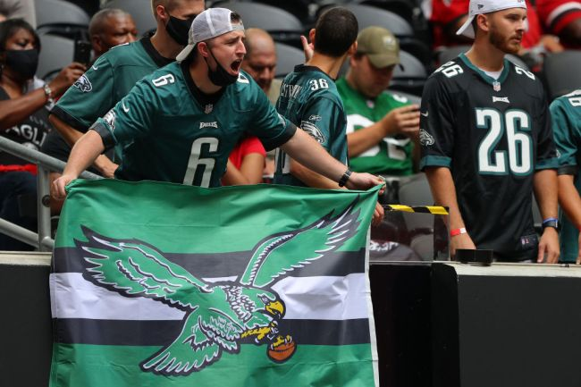 philadelphia eagles fan passes out wakes up in hospital