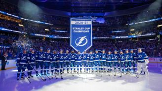 New Tampa Bay Lightning Championship Rings Include Epic Kucherov 'Number One BS' Tribute