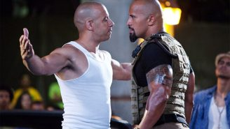 The Rock Is Once Again Windmill 360° Slam Dunking On Vin Diesel's Face