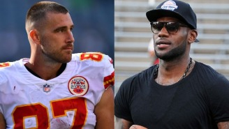 Travis Kelce Reveals Why LeBron James '1,000%' Would Dominate As An NFL Tight End
